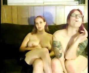 2 Hot Fat Chubby Girlfriends having fun on cam
