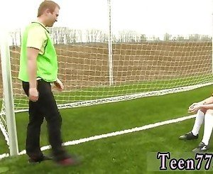 Hot teen girl small Dutch football player