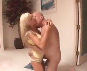 Hot blonde not his stepdaughter