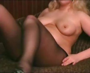 Horny Fat Chubby Teen GF loves rubbing her pussy