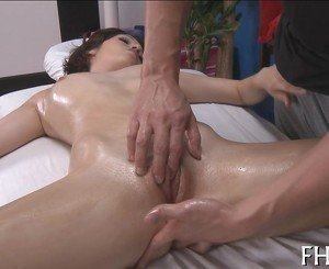 Explicit anal drilling