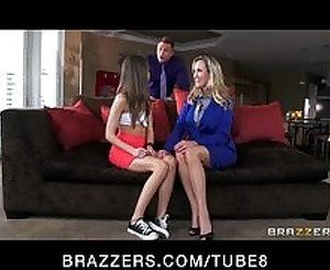 Brandi Love is turned on by watching her man fuck a younger woman