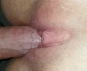 My girlfriends tight pussy