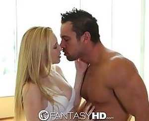 FantasyHD Blonde teen gets workout when she is fucked