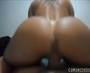 Perfect Ass Amateur Filled With Cum By Big