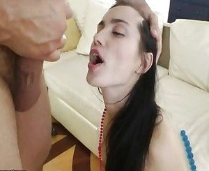 Anal training of Delphina