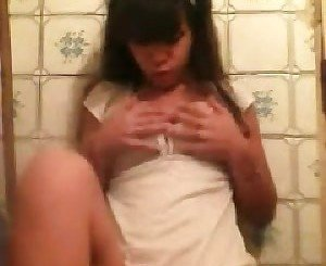 Cute teen fingering
