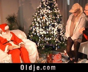 Santa Klaus and Mr nobel sexducates nasty teen