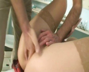 SlutBlonde Fucking with Doctor in Clinic