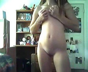 Teenage girl shows us her sexy body and masturbates.