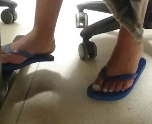 New Friend&#039,s Candid Beautiful Feet 4