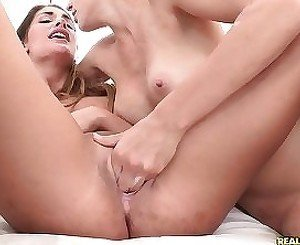 Slim girls are needy to stimulate one another's wet holes