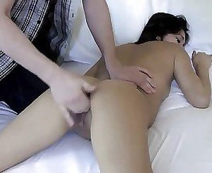 Young amateur gets the full pack in slutty scenes of porn