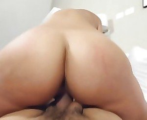 Teen with amazing ass makes magic in superb POV scenes