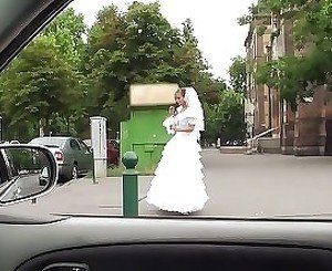 Rejected young bride pulls out my hard cock